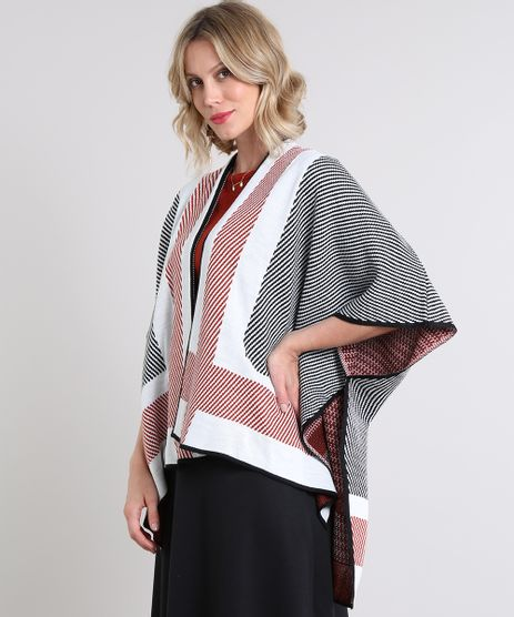Kimono-Feminino-em-Trico-Estampado-Geometrico-Branco-9563832-Branco_1