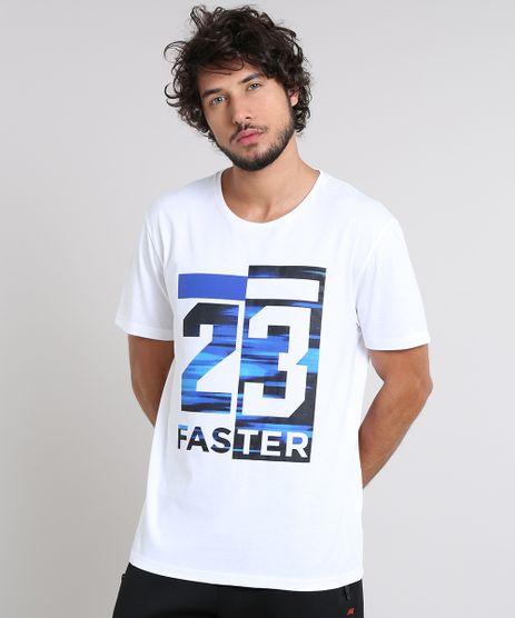 Camiseta-Masculina-Esportiva-Ace--23-Faster--Manga-Curta-Gola-Careca-Off-White-9511960-Off_White_1