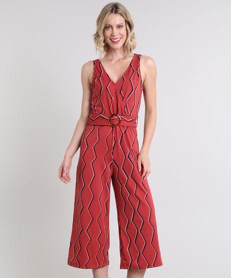 Macacao-Feminino-Pantacourt-Estampado-Geometrico-Alca-Larga-Vermelho-9504023-Vermelho_1