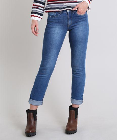 Calca-Jeans-Feminina-Reta-Azul-Medio-9611689-Azul_Medio_1