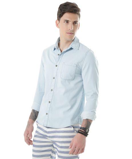 39ee78a69c Camisa-Jeans-Azul-Claro-8531078-Azul Claro 1