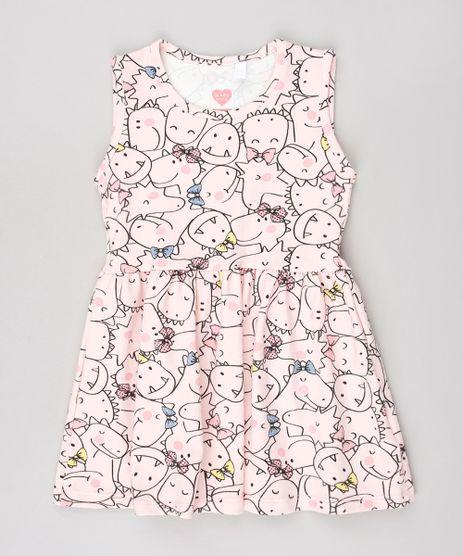 Vestido-Infantil-Estampado-de-Dinossauros-Sem-Manga-Rosa-Claro-9558992-Rosa_Claro_1