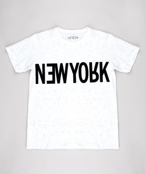 Camiseta-Infantil--New-York--Manga-Curta--Branca-9542456-Branco_1