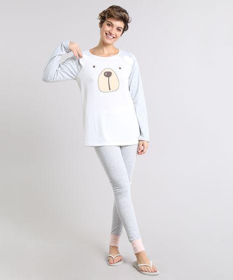 Pijama-Feminino-Ursinho-Manga-Longa-Branco-9505376-Branco_1