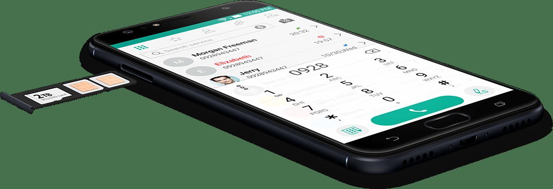 Dual SIM - suporte 4G